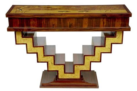 deco console table deco modernist table console tables furniture