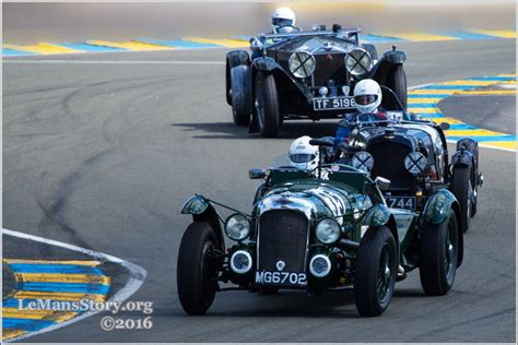 Classic Race Cars by Vintage Sports Car Racing Challenge At Le Mans Classic