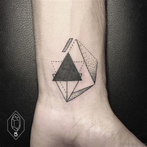geometric tattoo wrist 37 rare geometric tattoos on wrist
