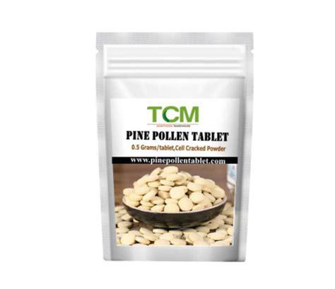 Pine Pollen Tablet pine pollen tablet 5 200tablets pine pollen powder manufacturer tcm adaptogen warehouse