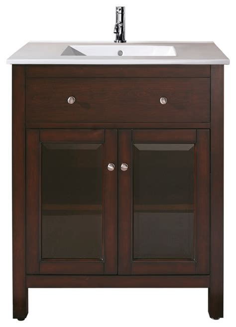 24 Bathroom Vanity Combo 24 In Vanity Combo Transitional Bathroom Vanities And Sink Consoles By Avanity Corp