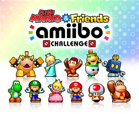 Bros Mini mini mario friends amiibo challenge wii u