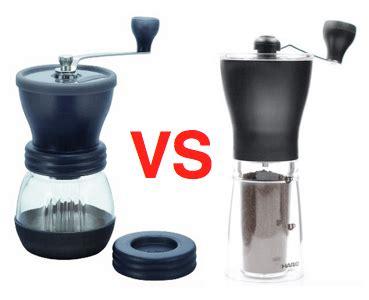Hario Coffee Mill Ceramic Slim Grinder Kopi Manual Ms Berkualitas hario slim mini vs skerton coffee mill comparison review