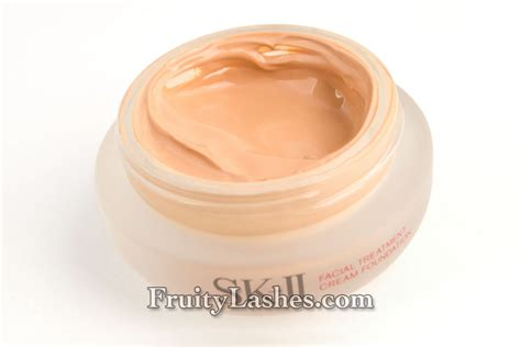 Sk Ii Foundation the foundation series sk ii treatment foundation 330 radiant ochre swatch and