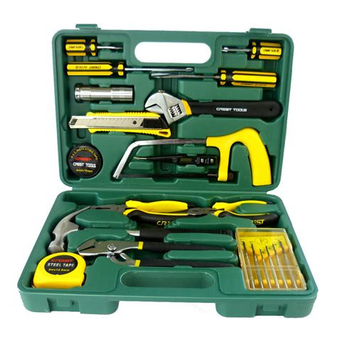 tool warranty repair 22pc electrician tool set chest auto home