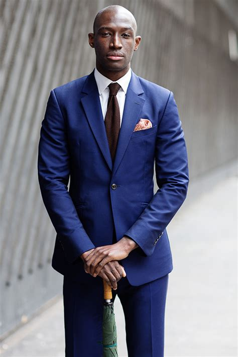 on the street blue suit 171 the sartorialist