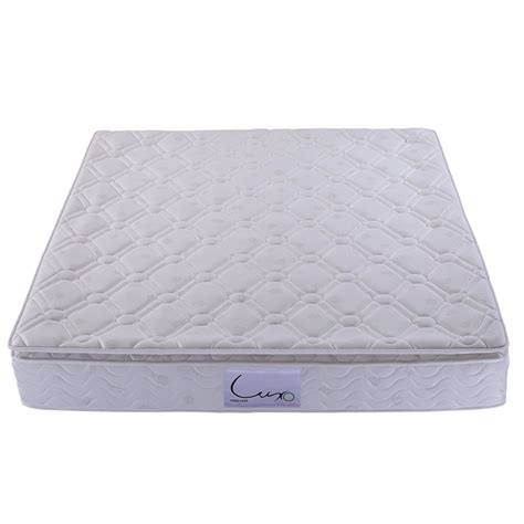 king size bed pillow top king size pocket spring latex pillow top mattress buy