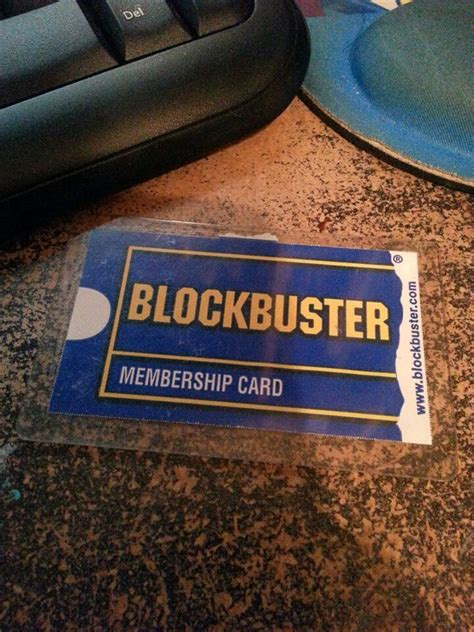 Blockbuster Gift Card - blockbuster card remember when pinterest