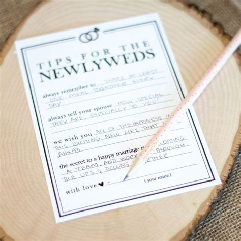 Wedding Wishes And Advice Cards by 25 Best Ideas About Wedding Advice Cards On