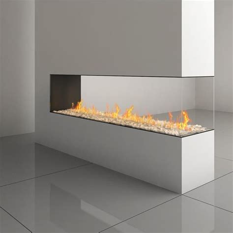3 sided gas fireplace ortal space creator 200 three sided gas by ortal