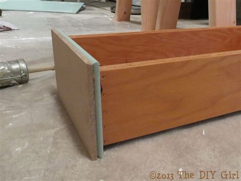 Mdf Drawer Fronts by Shaker Kitchen Cabinet Update Applying The Mdf Strips