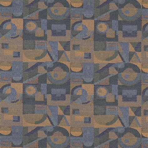 abstract upholstery fabric dark blue gold green abstract geometric durable upholstery
