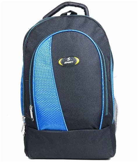 Bag Deal Black sk bags black polyester backpack snapdeal price bags