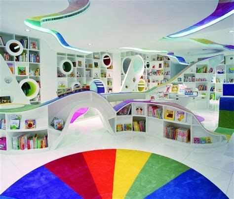 kid spaces design kid s republic book store in beijing china