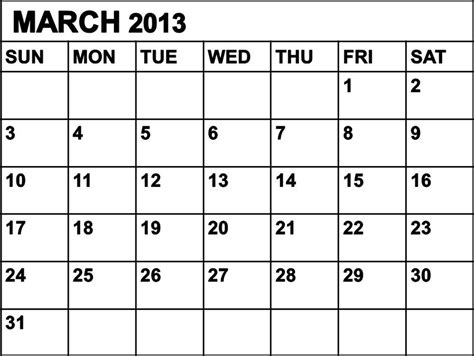 March 2013 Calendar Free Is My Freeismylife March 2013 Calendar Don T