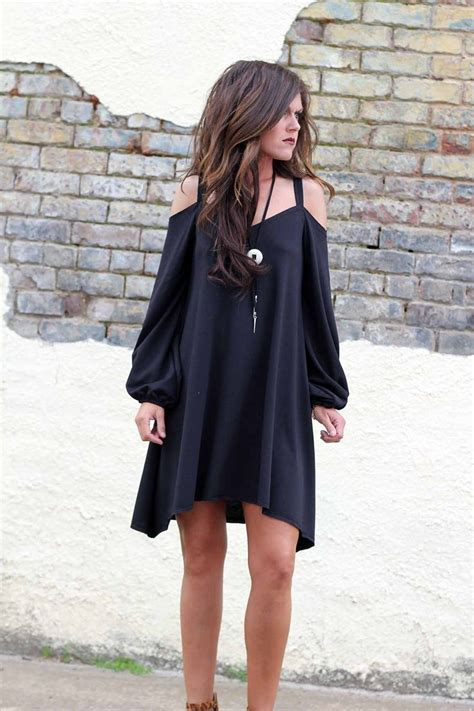 17907 Black Cold Shoulder Dress S M L 1000 ideas about cold shoulder dress on cold shoulder blouse and cold shoulder shirt