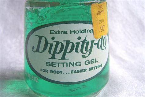 dippity do vintage 8 oz dippity do green hair gel by toni green my and sponge curlers