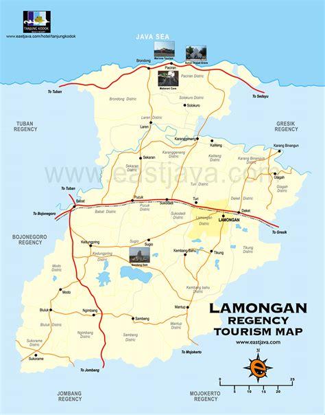 peta lamongan peta kabupaten lamongan peta kota