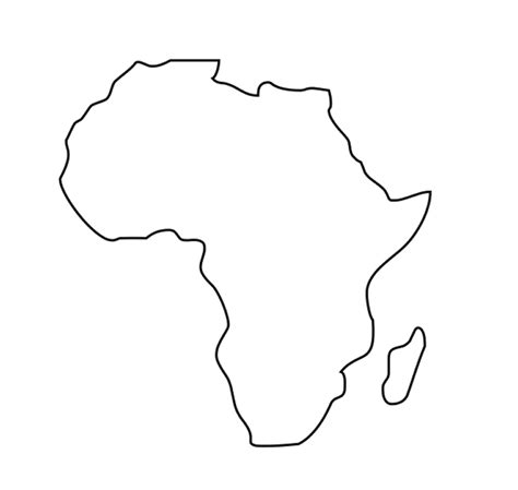 Africa Coloring Pages Coloring