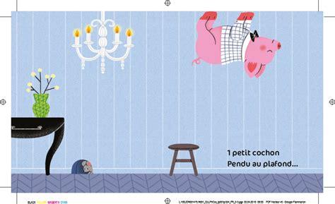 casterman un cochon pendu au plafond