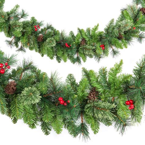 cashmere pine garland 2 7m branches and garlands branches