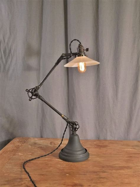 industrial style lighting vintage industrial style desk l on storenvy