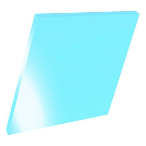 Acrylic 5mm 5mm perspex blue fluorescent acrylic sheet polished plastic sheets direct