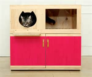cat litter box furniture by catwheel styletails