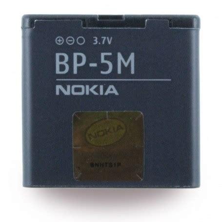 Batterai Batre Battery Batteray Nokia Bp 5m Ori 99 Mantaps bateria nokia bp 5m li polymer 5610 xpressmusic 900mah original