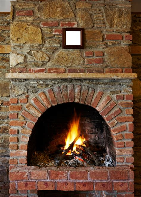 How To Modernize A Brick Fireplace by How To Increase The Energy Efficiency Of A Fireplace