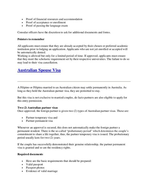Support Letter For Accommodation Everything You Need To About Australian Visa