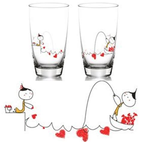 couples gift ideas for valentines boldloft quot my is yours to catch quot glass set