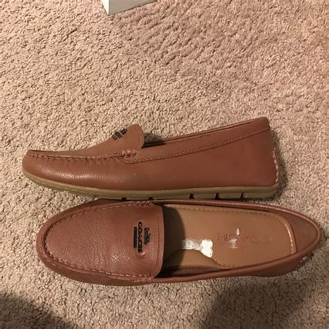 brown coach loafers 65 coach shoes coach brown leather loafers