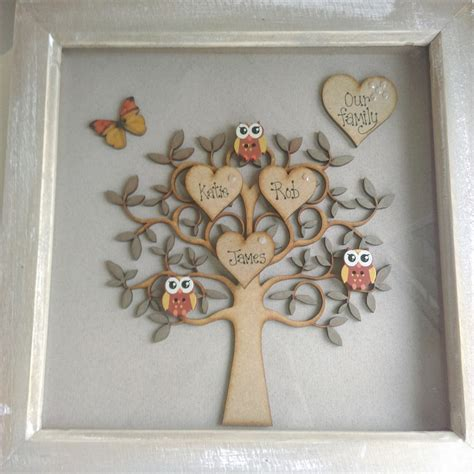 Handmade Family Tree Ideas - image gallery handmade family tree