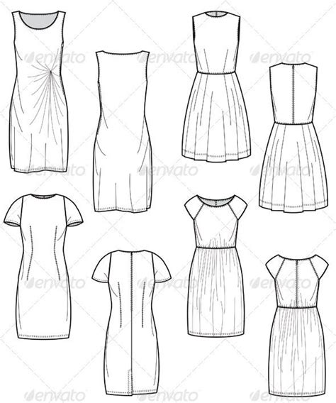 fashion illustration flat drawing best 25 fashion flats ideas on fashion illustration template fashion templates and