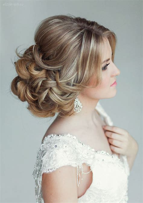 Wedding Hairstyles And Makeup Pictures by Elstile Wedding Hairstyles That Wow Mon Cheri Bridals