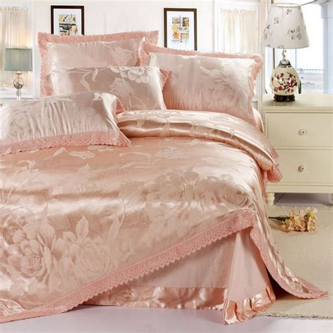 satin bed sheets popular pink satin duvet cover buy cheap pink satin duvet