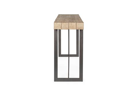 tavolo alto da bar tavolo alto da bar in ferro e legno di abete 200x50x110h