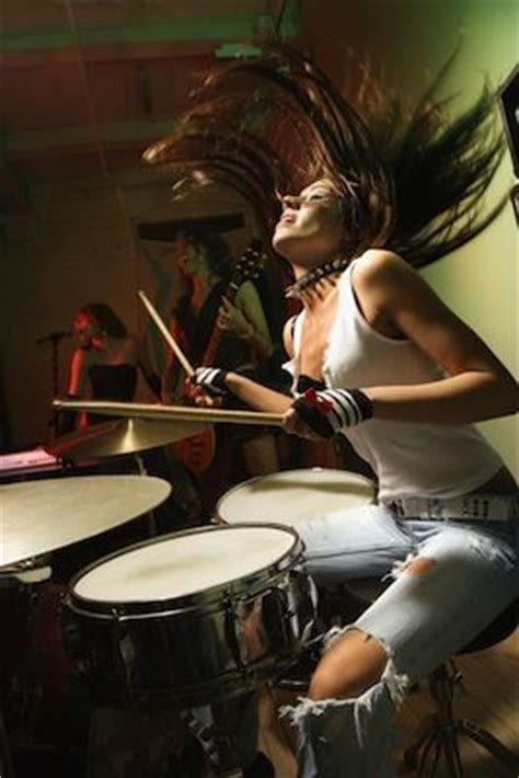 hot chick playing drums drummers drums and girls on pinterest
