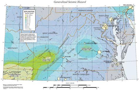 earthquake north carolina earthquakes in the central virginia seismic zone