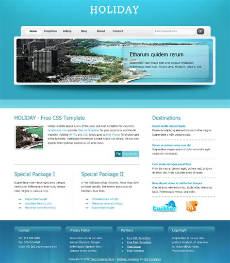 free websites web design 187 free xhtml css templates for different