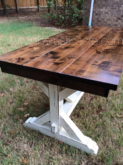 25 best ideas about rustic farm table on