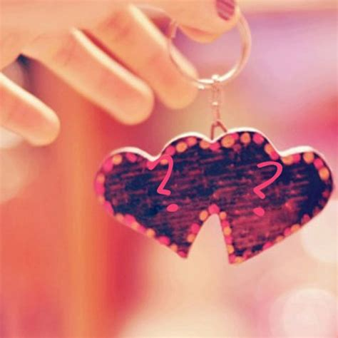 lovely couple hearts with name