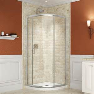 36 Stand Up Shower Shower Stalls Kits Showers The Home Depot
