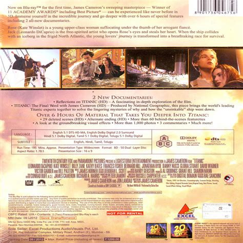 film titanic in english english movie titanic blu ray