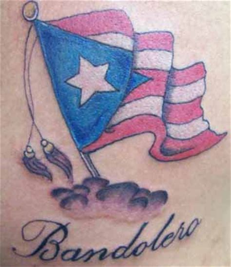 puerto rican flag tattoo design flag tattoos que la historia me juzgue