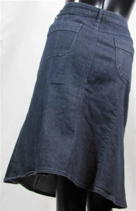 new york company size 14 below the knee a line jean