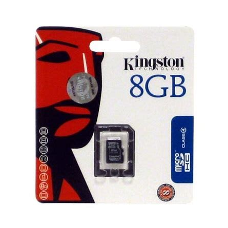 Micro Sdhc Kingston 8gb Class 4 kingston 8gb sd micro sdhc class 4 sdc4 8gbsp mem 243 ria