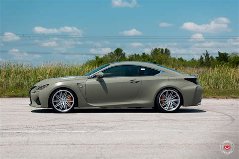 lexus gsf custom army green lexus rc f white gs f pose on custom rims 49