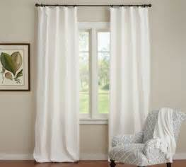 Pottery Barn Black Out Curtains Emery Linen Cotton Drape Pottery Barn White Or Ivory